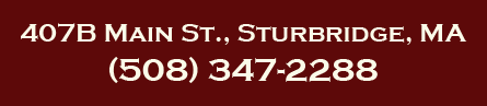 407B Main St, Sturbridge, MA, (508) 347-2288